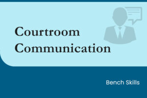 Courtroom Communication