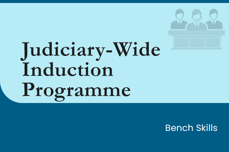 Judiciary-Wide Induction Programme