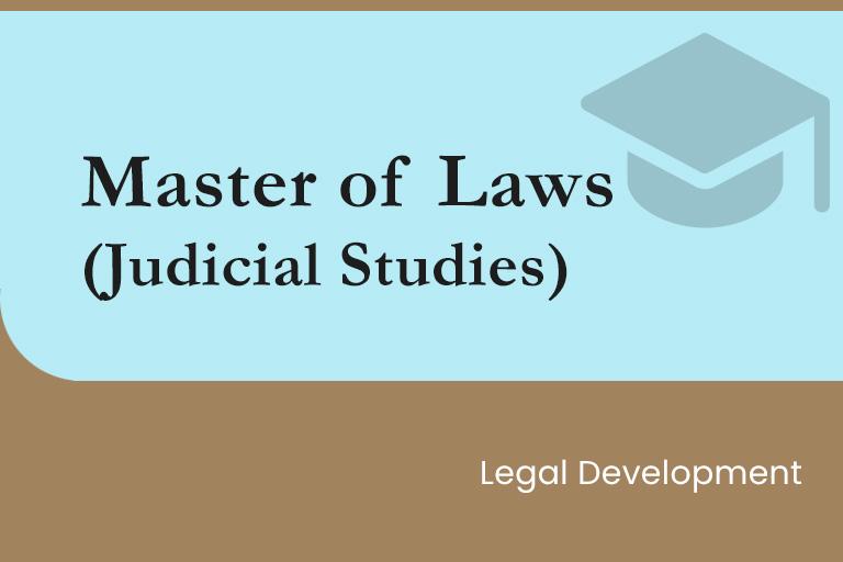 Master of Laws (Judicial Studies)